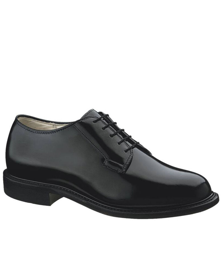 Bates Men's Black Premier Oxford Shoes - Round Toe, Black, hi-res