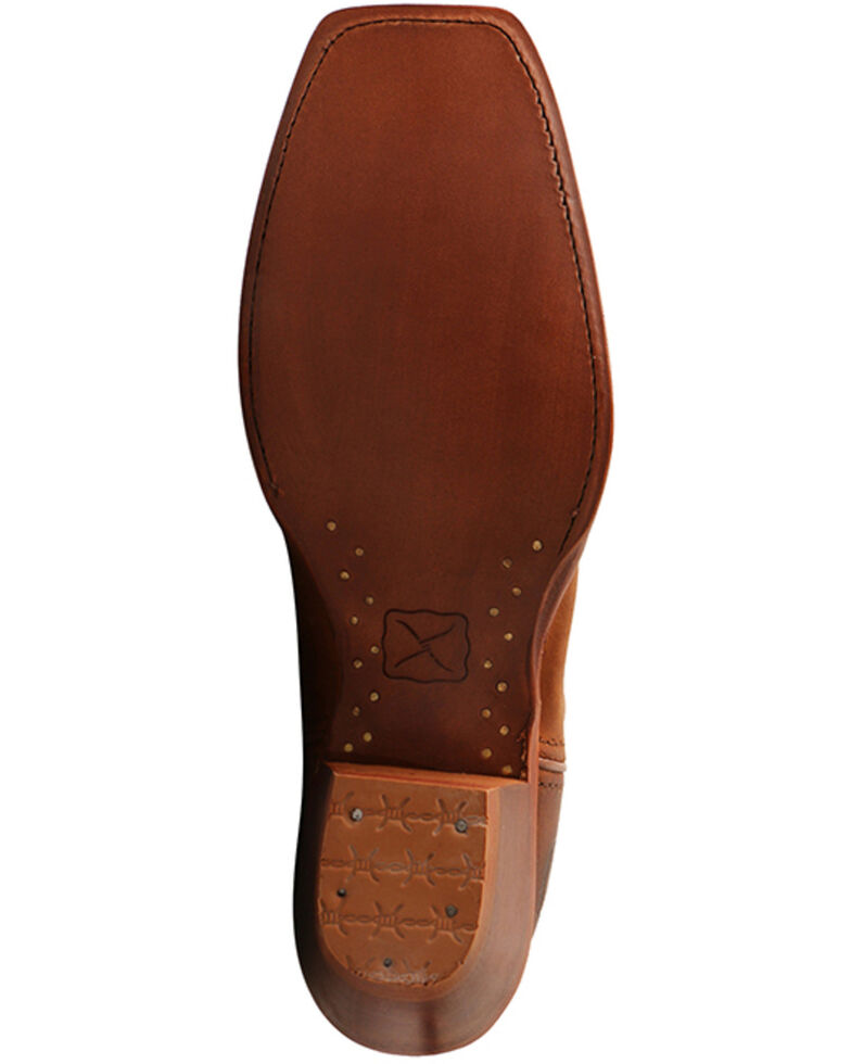 Twisted X Women's Buckaroo Saddle Western Boots - Snip Toe