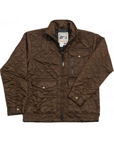 Schaefer Outfitter Men's Chocolate Canyon Cruiser Jacket - 2XL , Chocolate, hi-res
