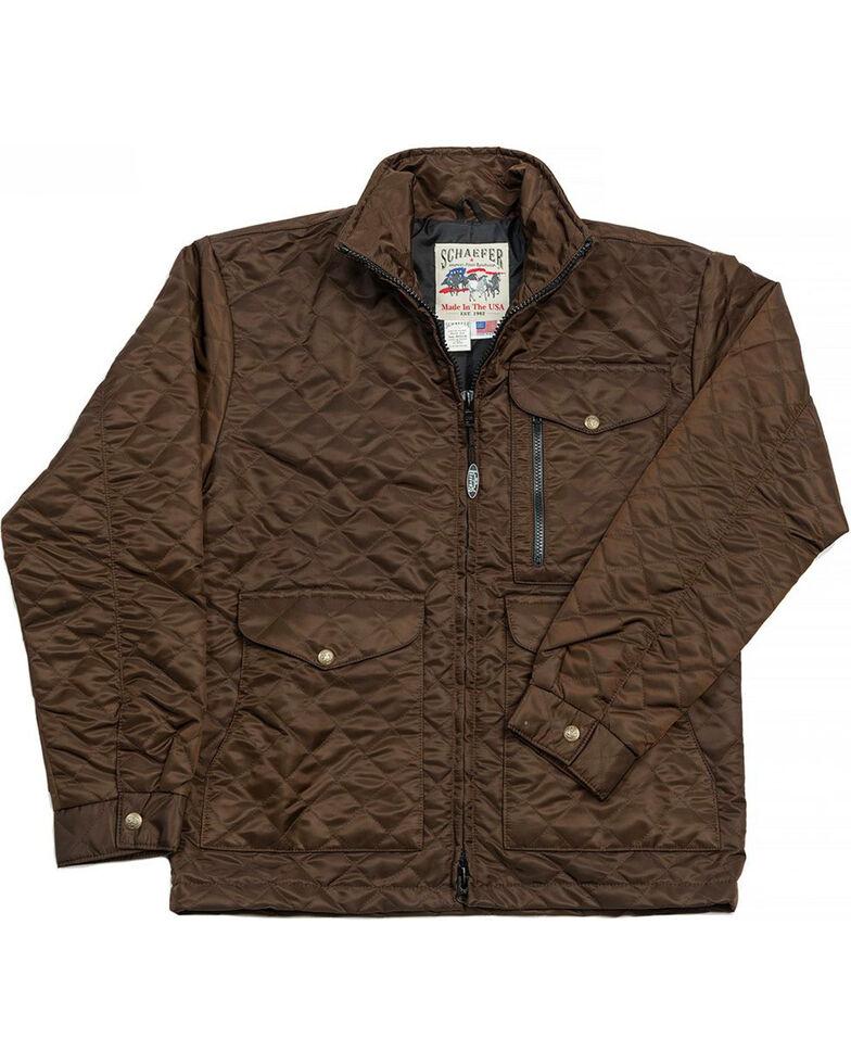 Schaefer Outfitter Men's Chocolate Canyon Cruiser Jacket - 2XL , Chocolate, hi-res
