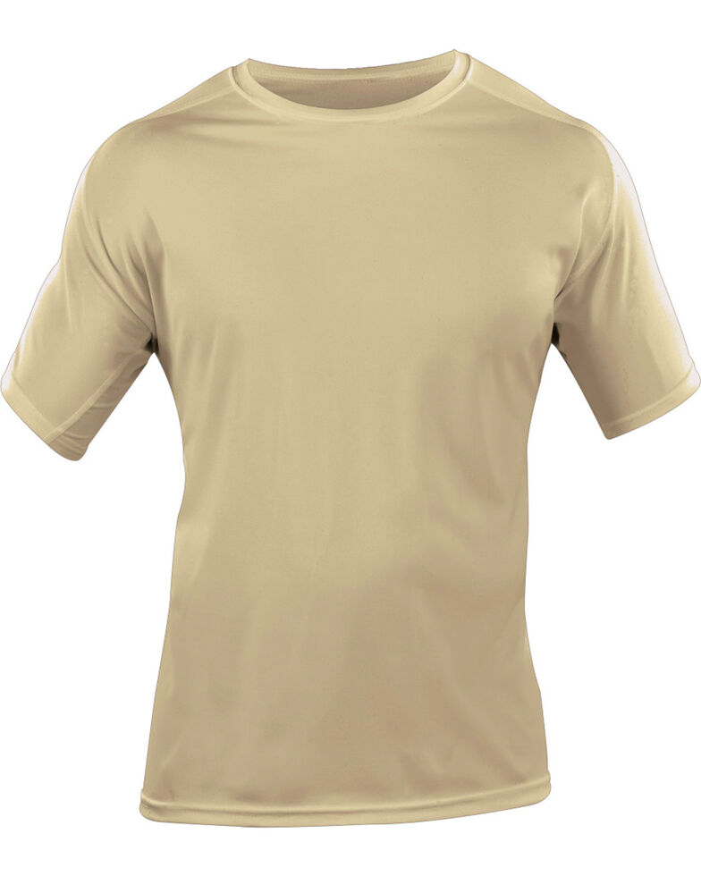 5.11 Tactical Men's Utili-T Crew Shirts 3-Pack - 3XL, Tan, hi-res