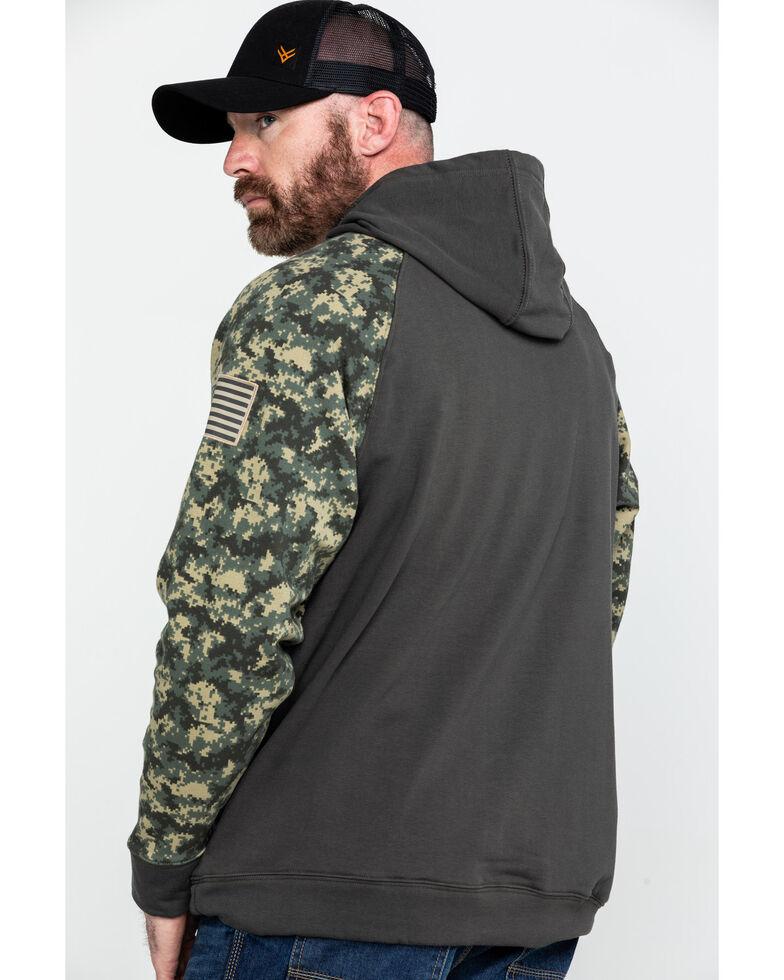 Ariat Men's FR Durastretch Camo Patriot Hoodie Work Sweatshirt - Big , Camouflage, hi-res