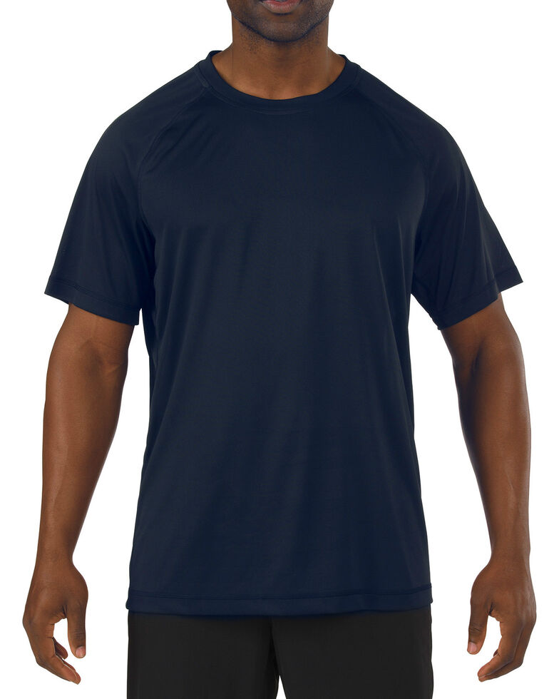 5.11 Tactical Utility PT Shirt, Navy, hi-res