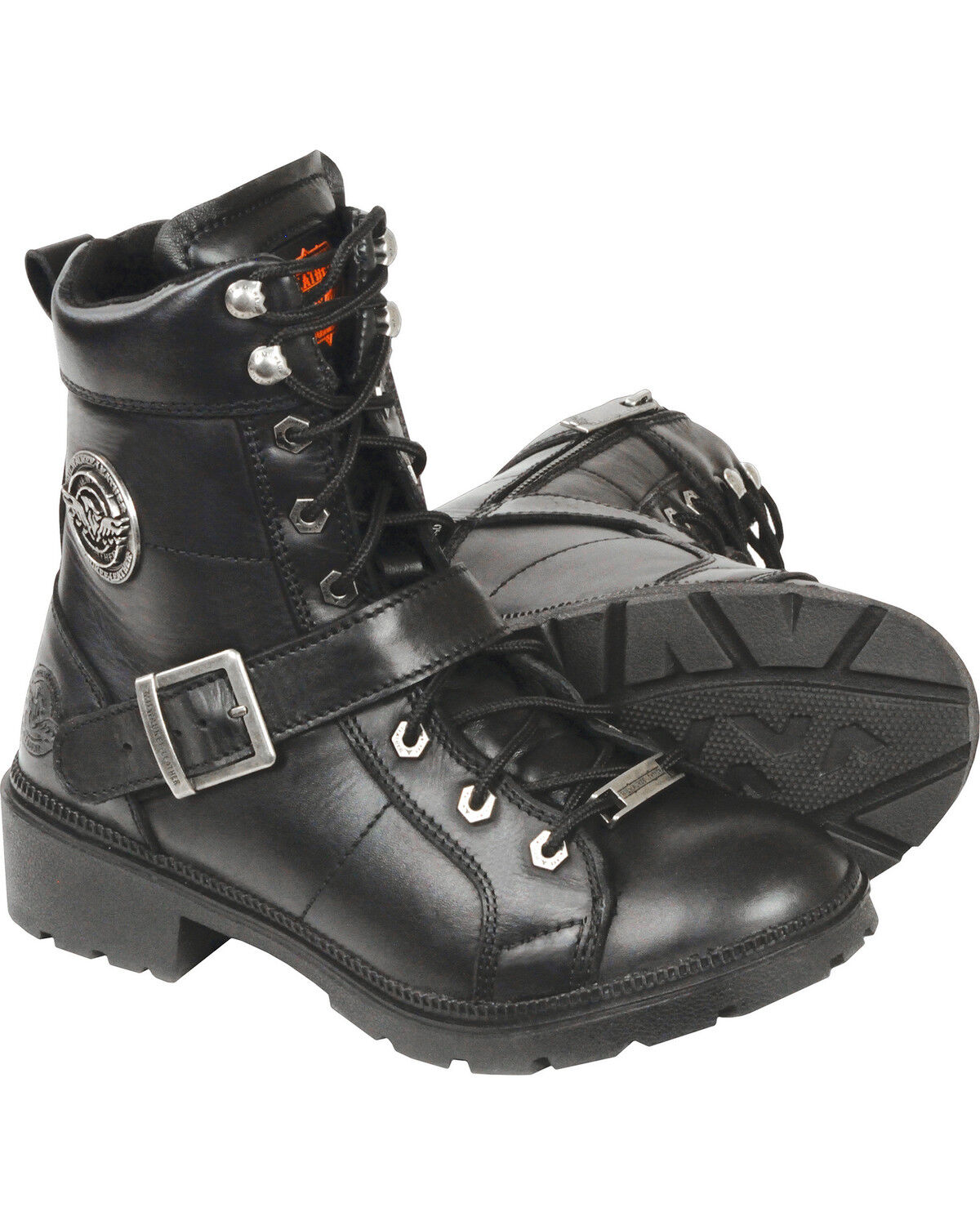 Black, 7 Milwaukee Performance Womens Lace to Toe Boot