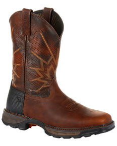 Durango Men's Maverick XP Ventilated Western Work Boots - Square Toe, Brown, hi-res
