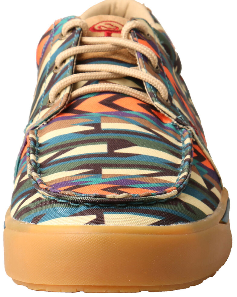 Twisted X Men's Multicolored HOOey Loper Shoes - Moc Toe, Multi, hi-res