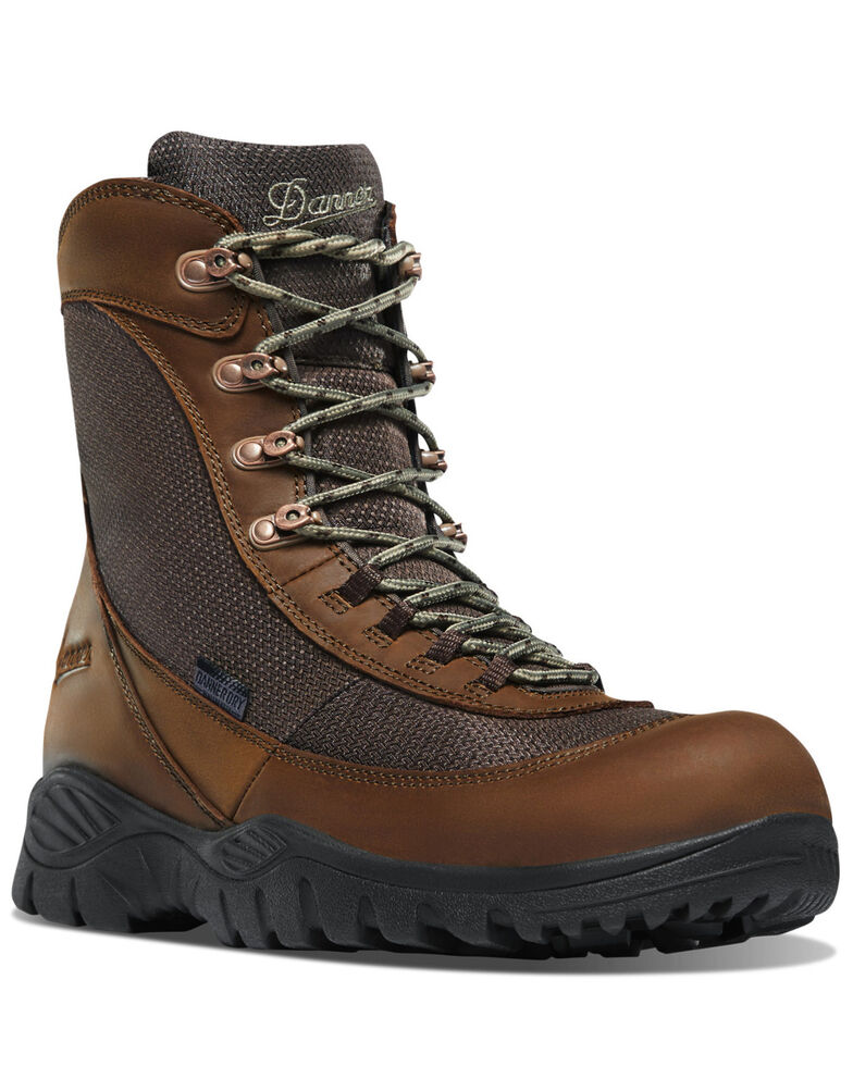Danner Men's Element Work Boots - Soft Toe, Brown, hi-res