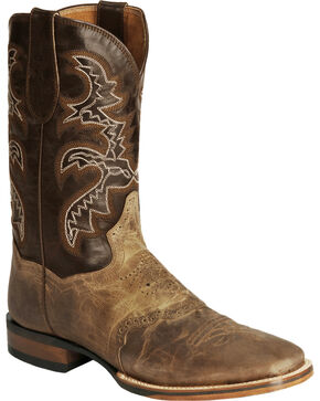 Dan Post Men's Franklin Cowboy Certified Western Boots, Sand, hi-res