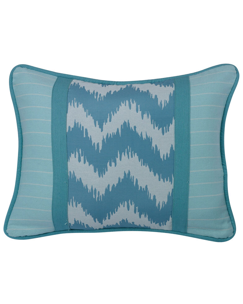 HiEnd Accents Chevron Print Accent Pillow, Multi, hi-res