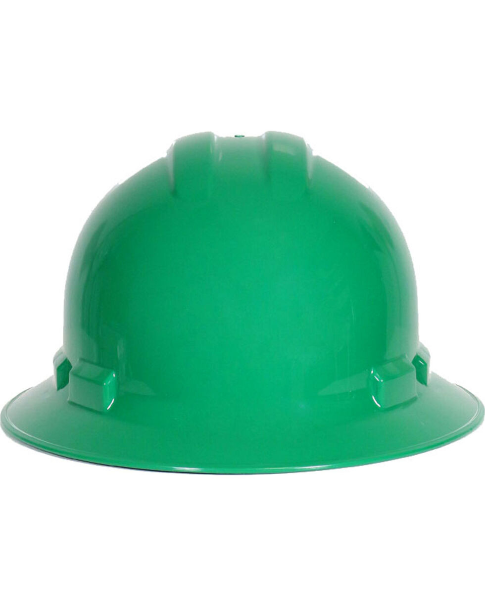 Radians Men's Quartz Full Brim Hard Hat, Green, hi-res