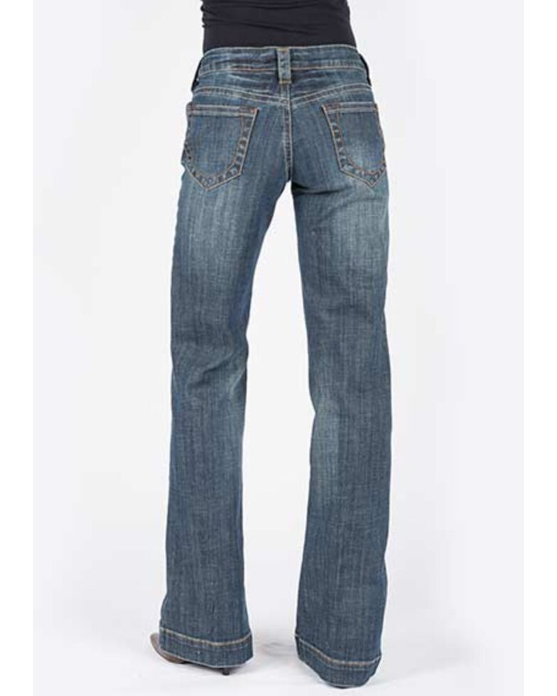 Stetson Women's Medium 214 Trouser Jeans, Indigo, hi-res