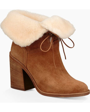 UGG® Women's Jerene Fashion Boots, Chestnut, hi-res