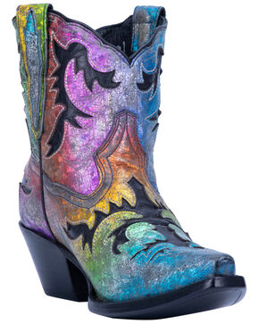 Dan Post Women's Multi Galaxy Western Boots - Snip Toe, Multi, hi-res