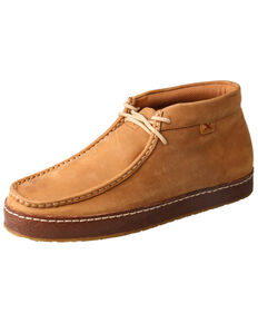 Twisted X Men's Wedge Heel Western Sneakers - Moc Toe, Tan, hi-res