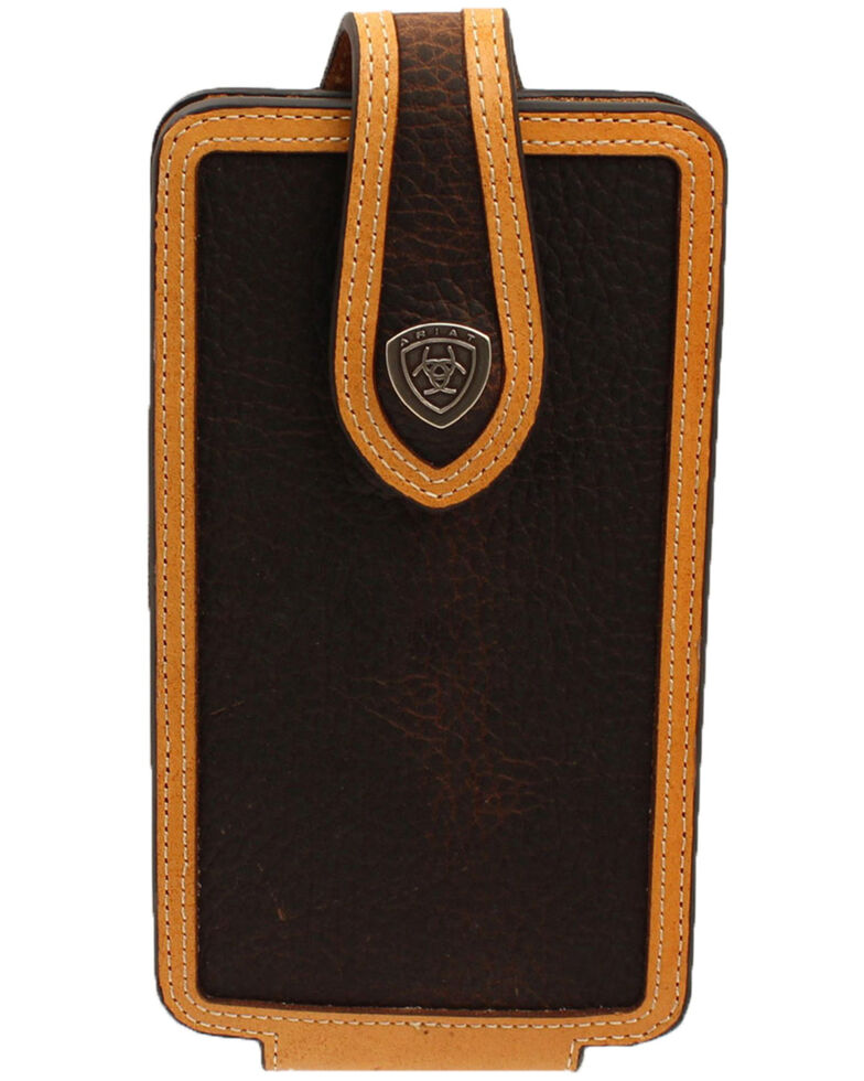 Ariat Concho Cell Phone Case, Brown, hi-res