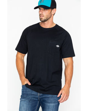Dickies Men's Temp-IQ Performace Cooling T-Shirt, Black, hi-res