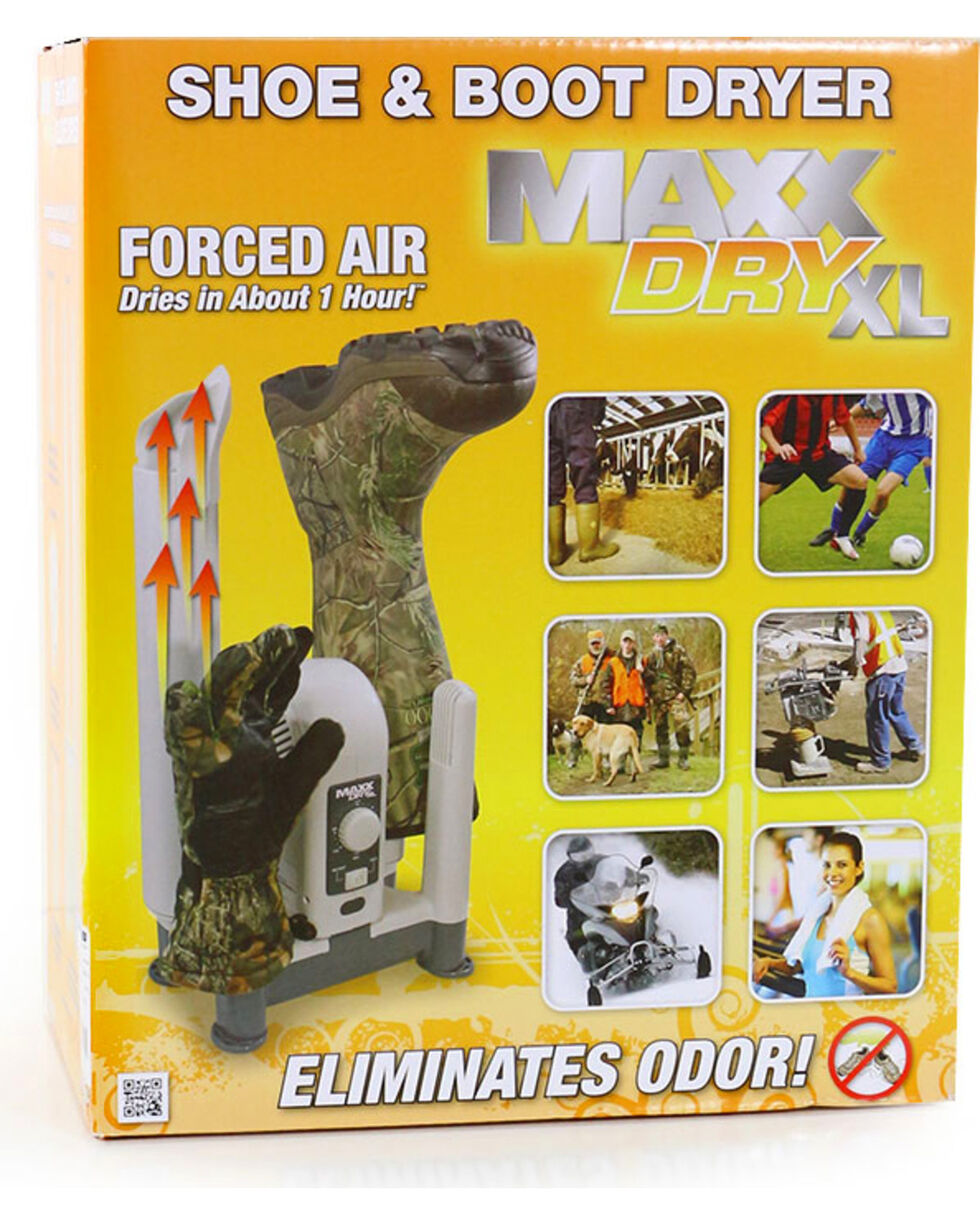 MaxxDry XL Shoe, Boot, & Glove Dryer, White, hi-res