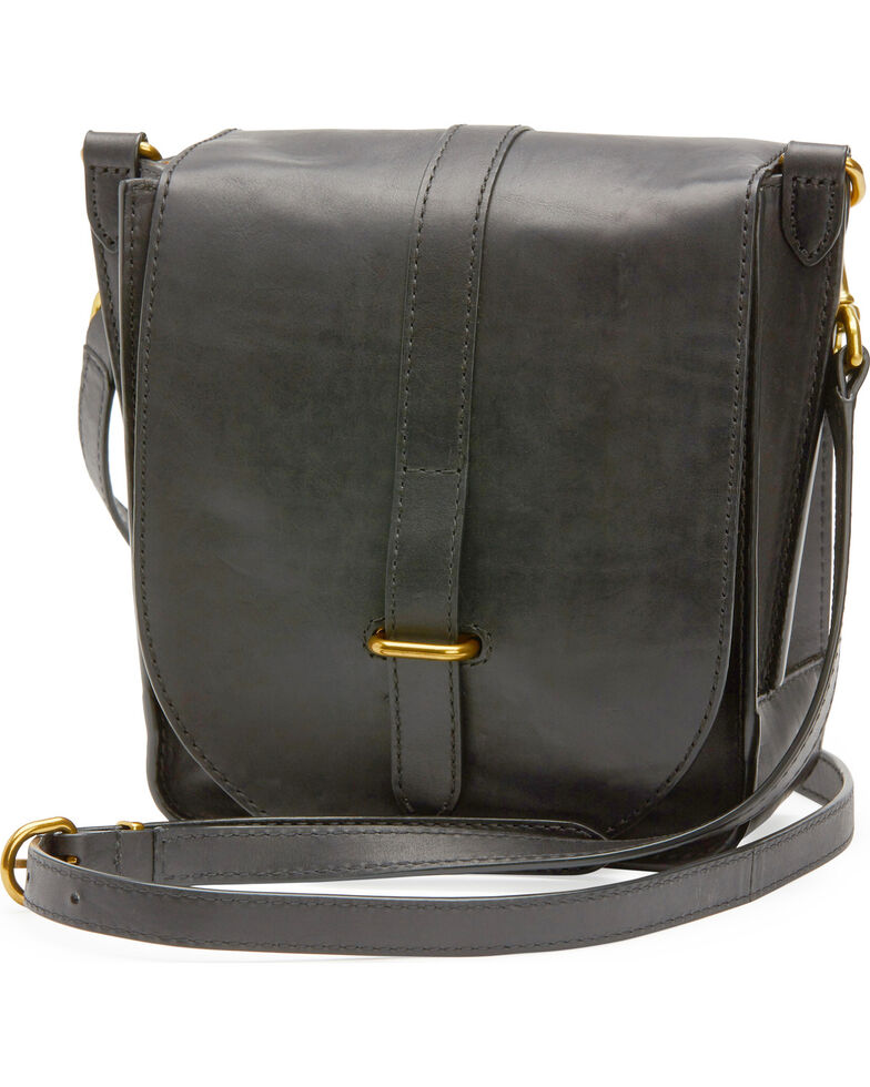 Frye Women's Ilana Crossbody Bag , Black, hi-res