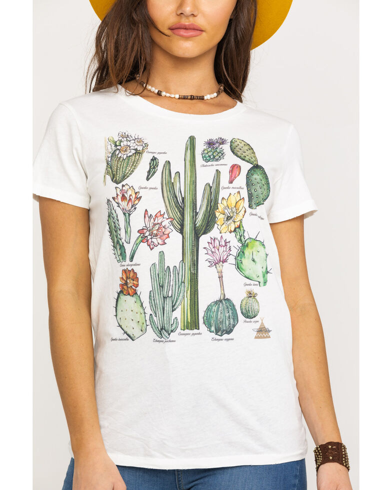 Tasha Polizzi Women's Cactus Chart Tee, Ivory, hi-res