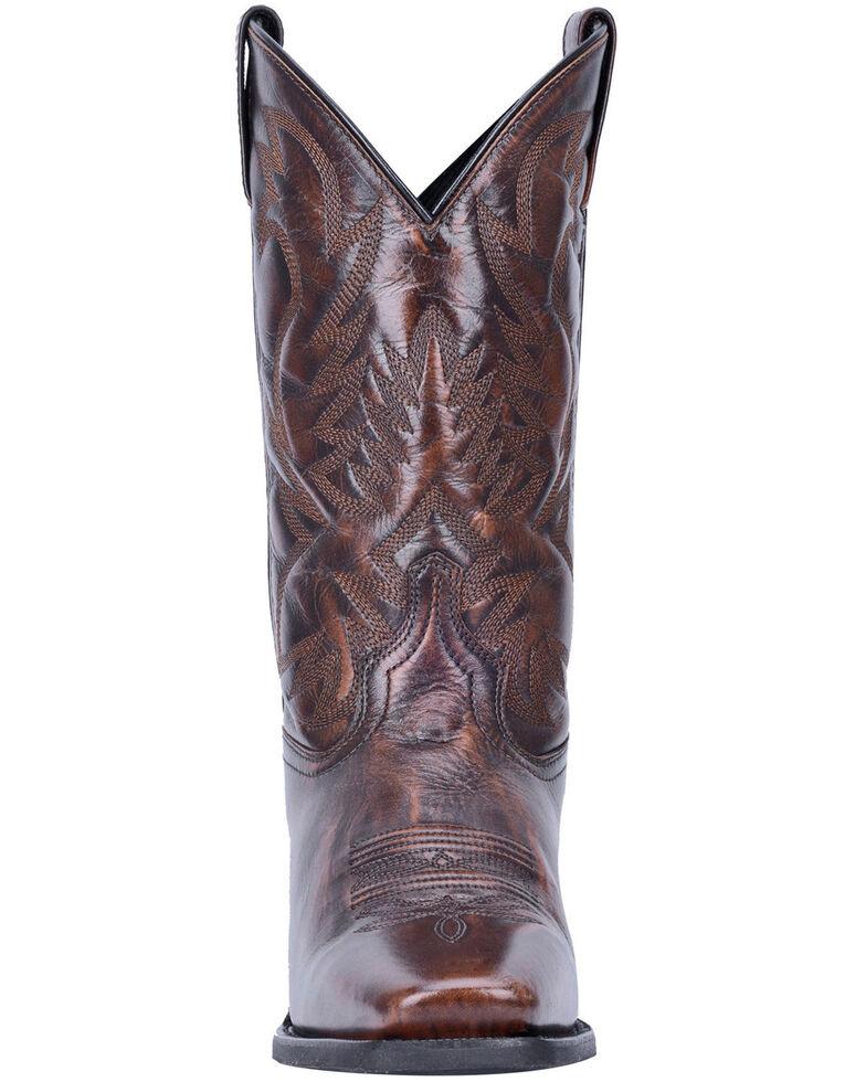 Laredo Men's Lawton Western Boots - Narrow Square Toe, Tan, hi-res