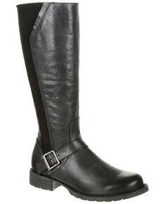 Durango Women's Crush Tall Riding Boots - Round Toe, Grey, hi-res
