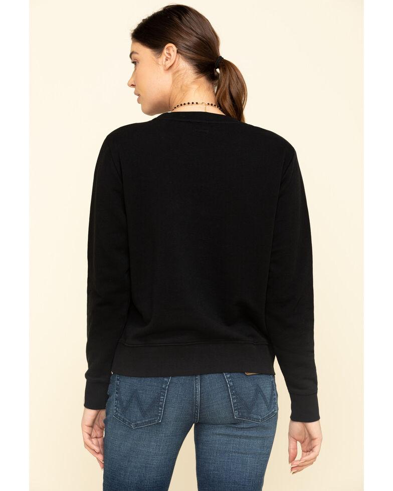 Wrangler Modern Women's Black Sweatshirt , Black, hi-res