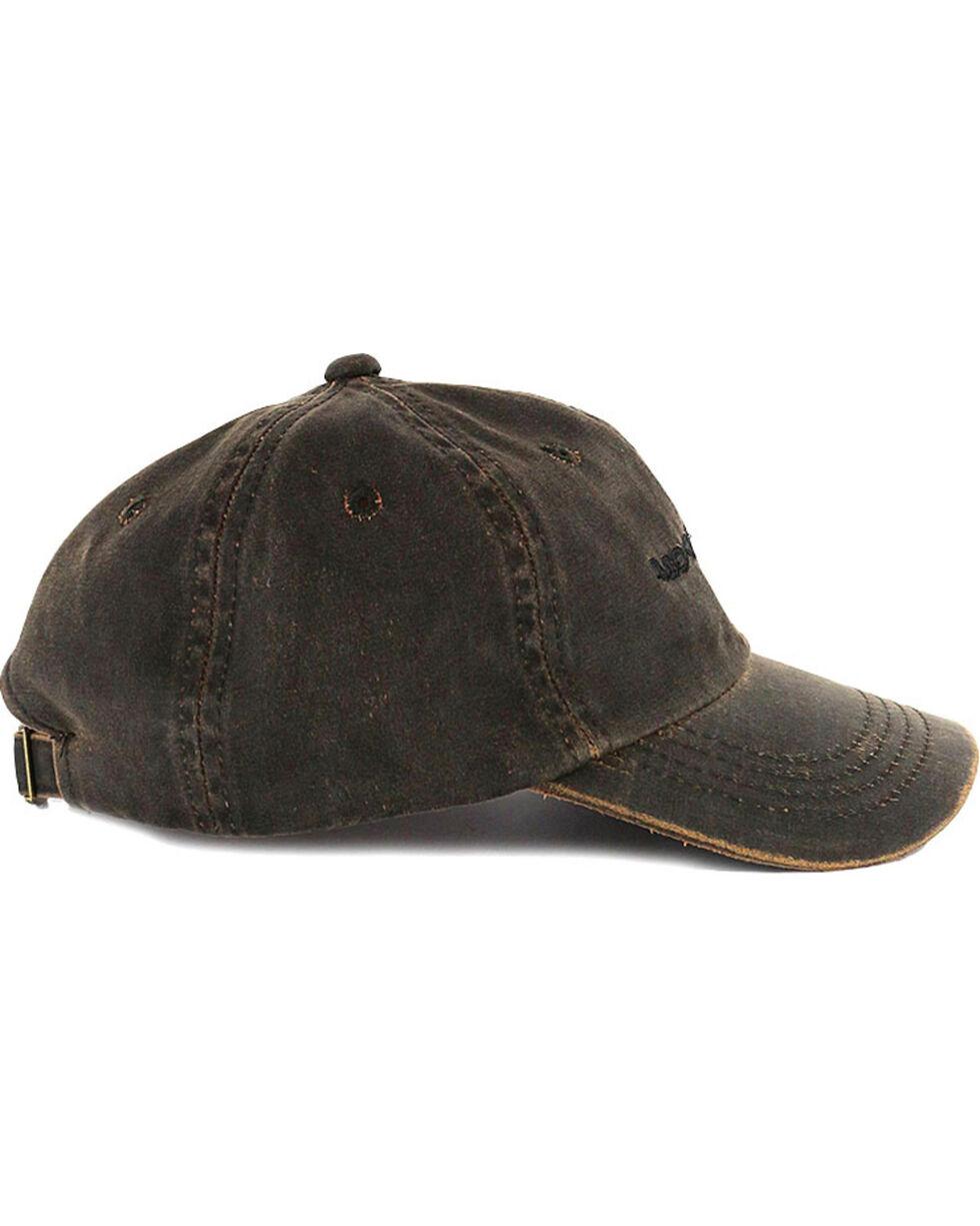 Moonshine Spirit Distressed Ball Cap, Brown, hi-res
