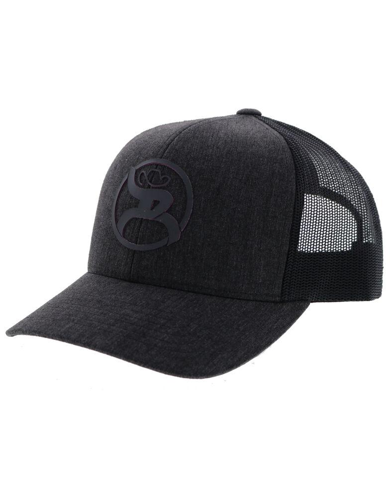 HOOey Men's Grey Roughy 2.0 Mesh Ball Cap , Grey, hi-res