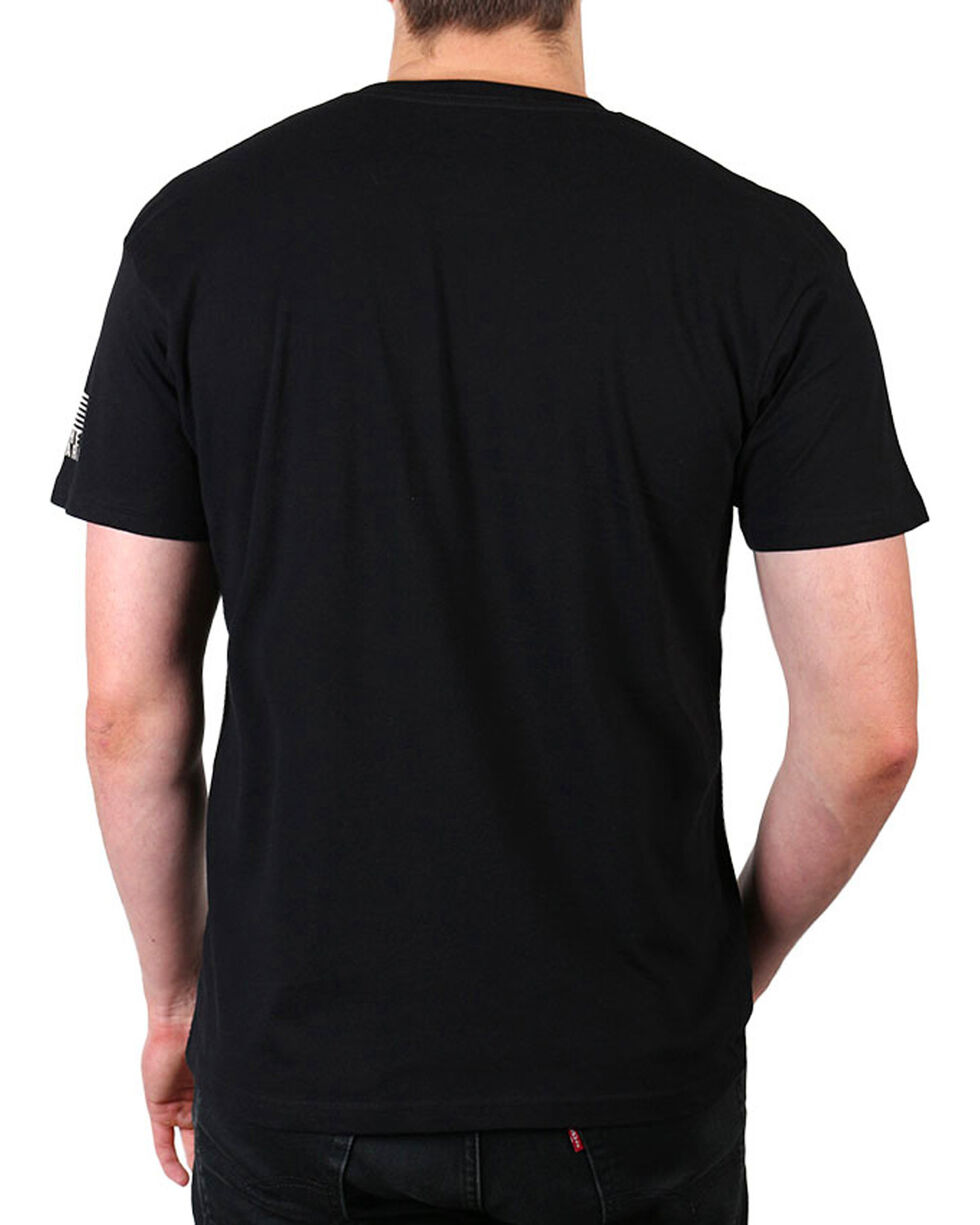 Brothers & Arms Men's American Eagle T-Shirt, Black, hi-res