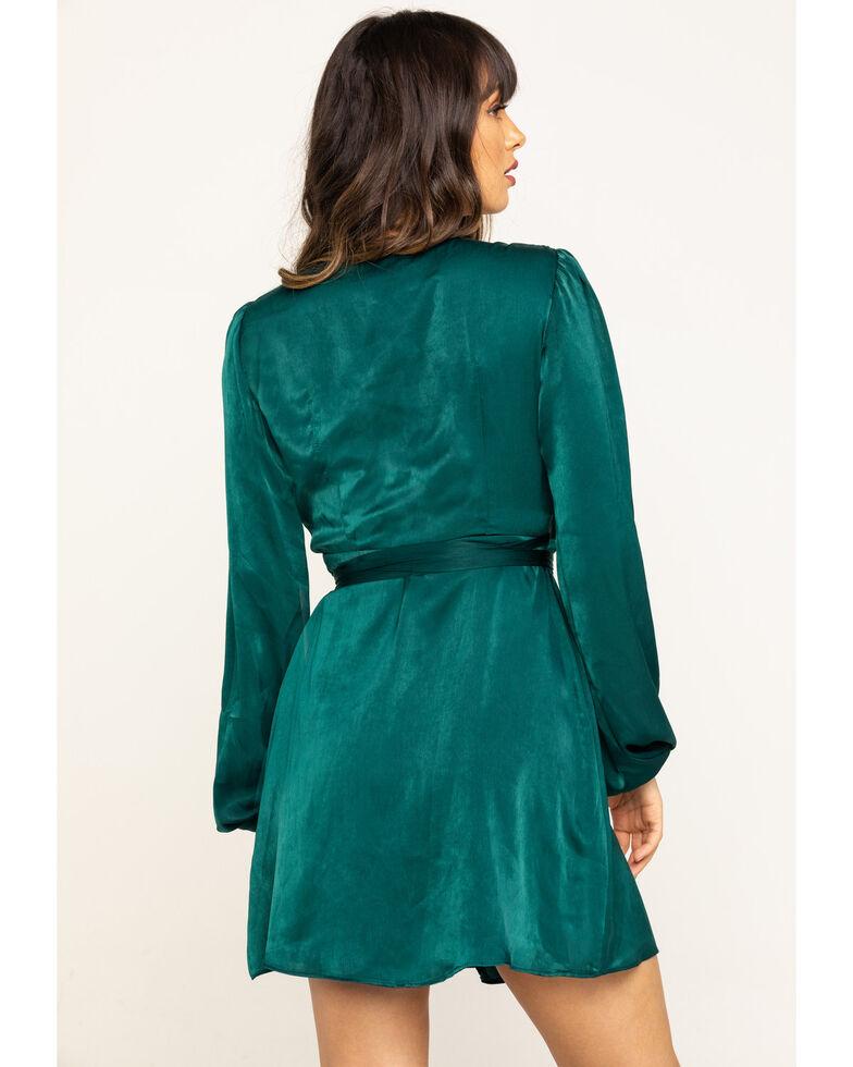 Show Me Your Mumu Women's NOLA Dark Emerald Mini Dress, Dark Green, hi-res