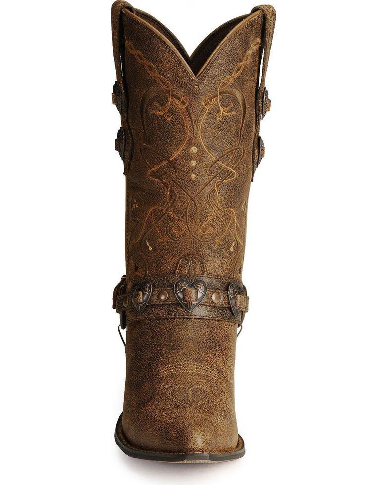 Durango Women's Crush Western Boots, Brown, hi-res