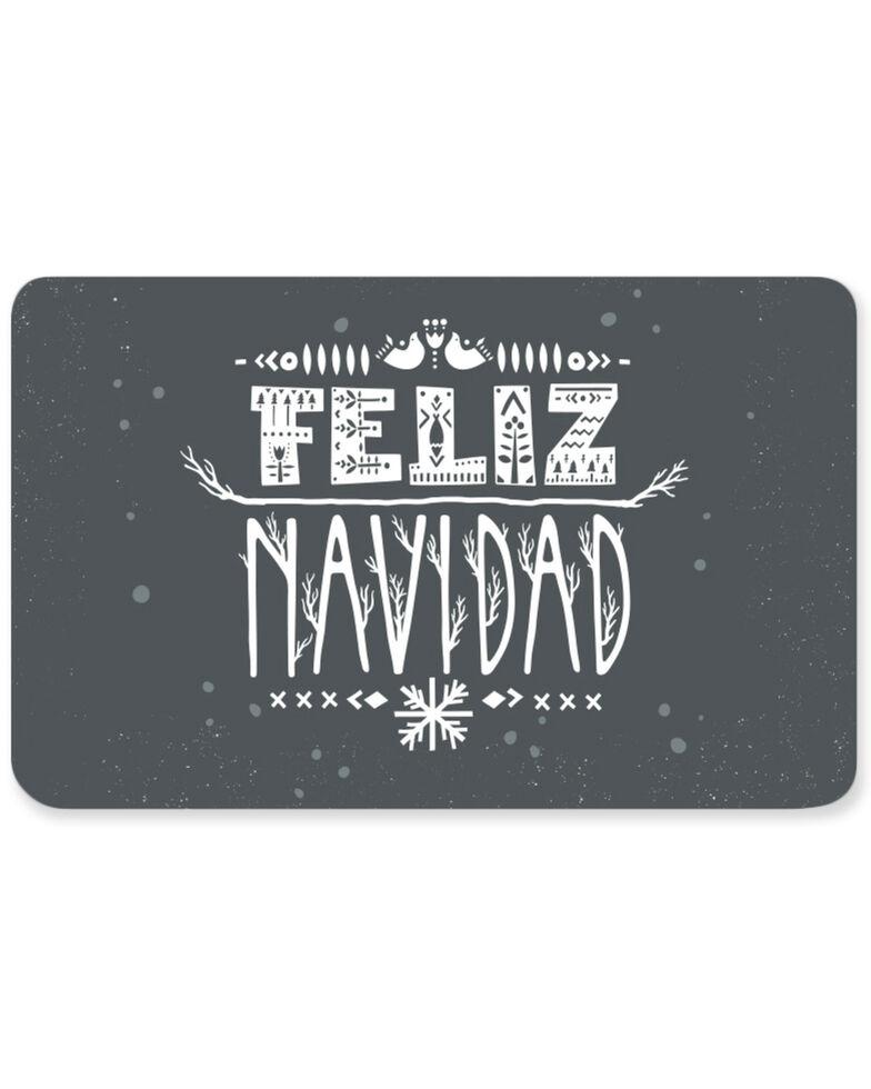 Boot Barn® Christmas - Feliz Navidad Gift Card, No Color, hi-res