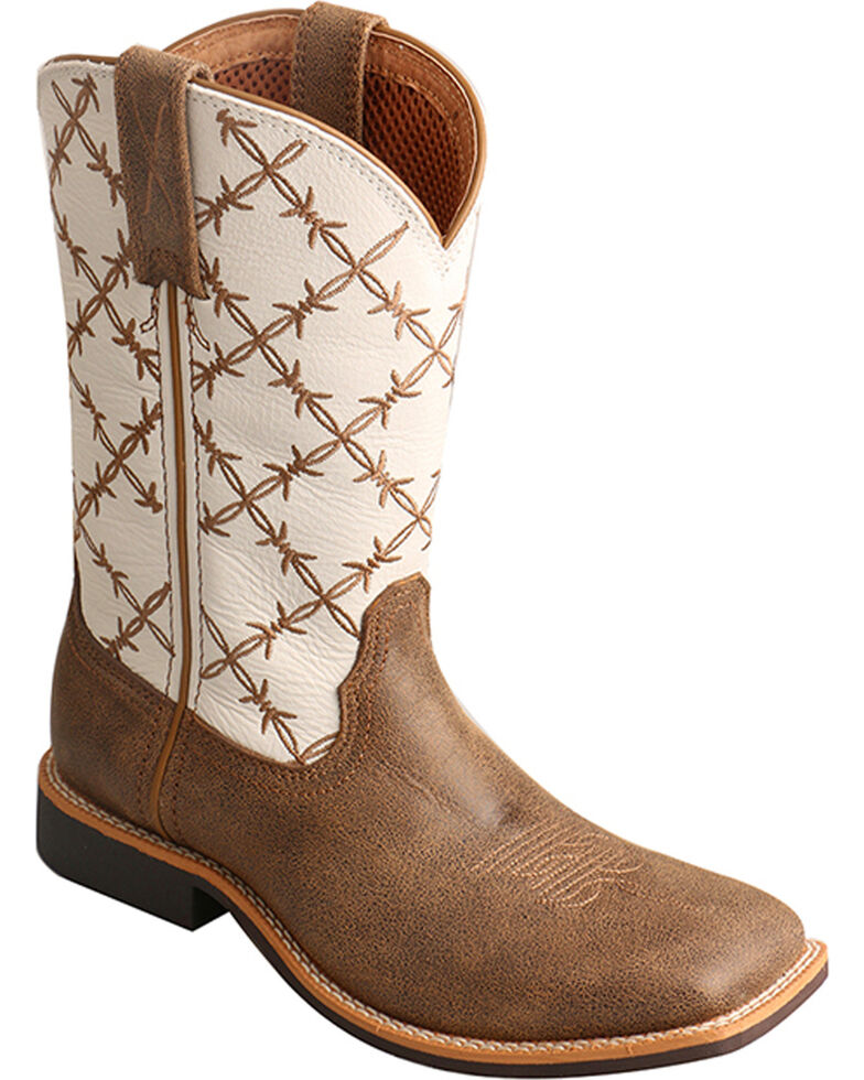 Twisted X Boys' Top Hand Cowboy Boots - Square Toe | Boot Barn