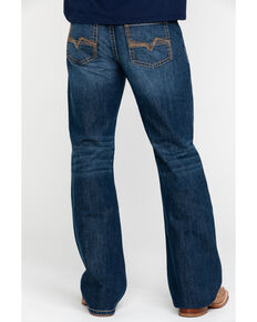 Cody James Men's Desert Rigid Relaxed Bootcut Jeans , Blue, hi-res