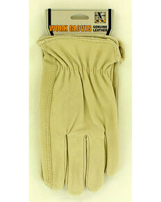 HDXtreme Pigskin Work Gloves, Natural, hi-res