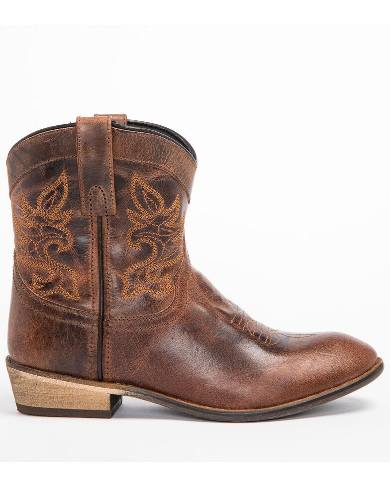 "Dingo Women's 6"" Willie Western Fashion Boots, Brown, hi-res"