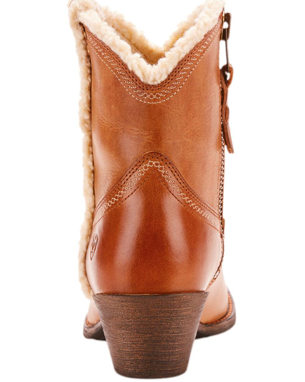 Ariat Women's Brown Darlin Fleece Boots - Medium Toe , Brown, hi-res