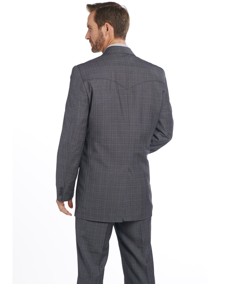 Circle S Men's Grey Slate Sportcoat - Tall, Grey, hi-res