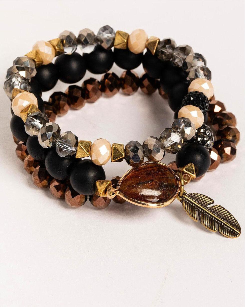 Idyllwind Women's Tiger's Eye 3 Bracelet Stack, Multi, hi-res