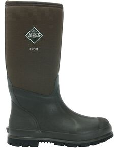 Muck Boots Chore Cool Hi Work Boots, Brown, hi-res
