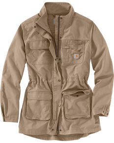 Carhartt Women's Smithville Jacket , Tan, hi-res