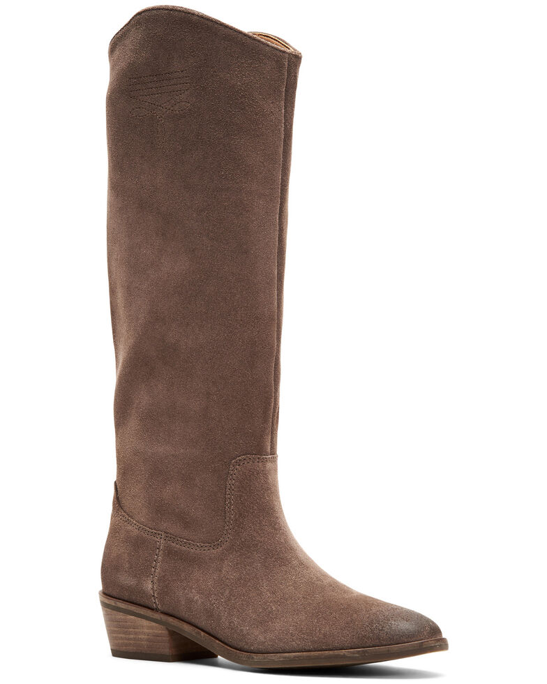 Frye & Co. Women's Caden Stitch Tall Western Boots, Taupe, hi-res