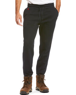 Ariat Men's FR Work Sweatpants, Black, hi-res
