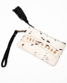 Idyllwind Women's Free To Roam Hair On Clutch, White, hi-res