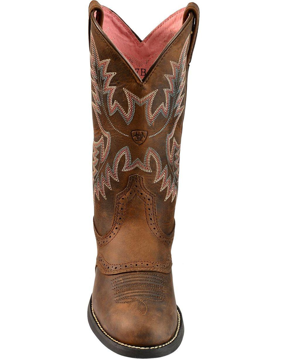 "Ariat Women's Stockman 11"" Western Boots, Driftwood, hi-res"