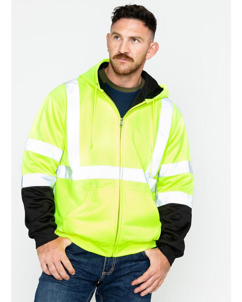 Hawx 174 Men S Soft Shell Visibility Safety Jacket Big