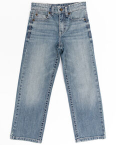 Cody James Boys' 4-8 Blue Shadow Stretch Slim Bootcut Jeans , Blue, hi-res