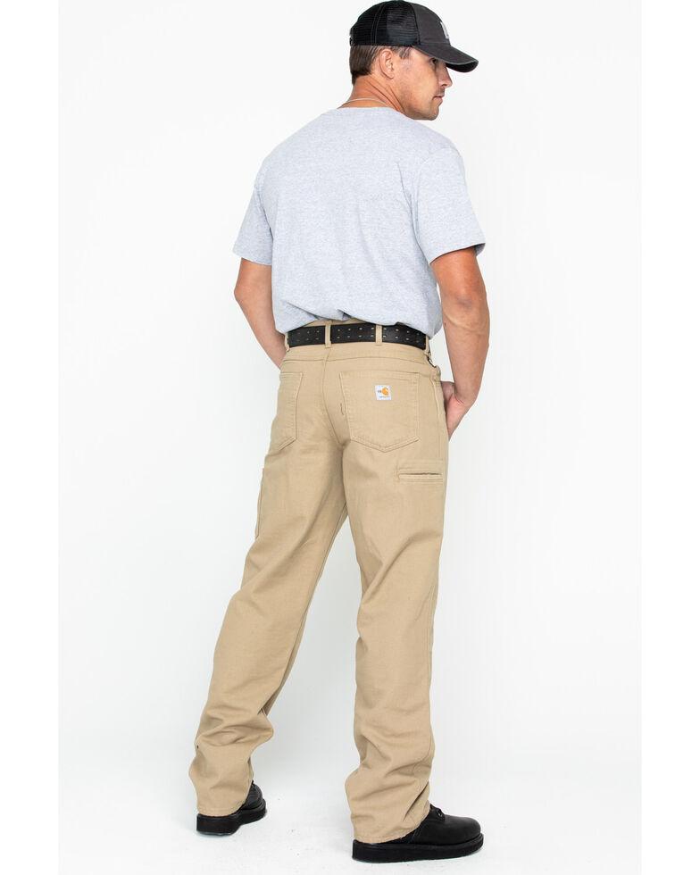 Carhartt Flame Resistant  Canvas Work Pants, Khaki, hi-res