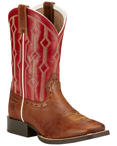 Ariat Kids' Live Wire Western Boots, Wood, hi-res