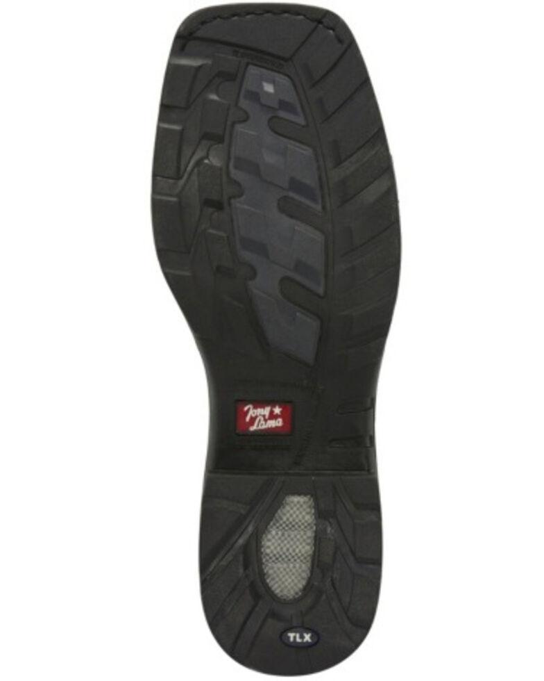 Tony Lama Men's Diboll Rust Diamond Plate Western Work Boots - Composite Toe, , hi-res